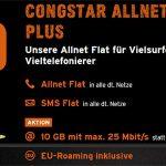 10GB LTE Congstar Allnet Flat Plus für 28€ pro Monat | ohne Laufzeit