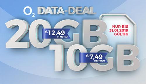 o2 my Data M und Data L mit bis zu 420€ Auszahlung