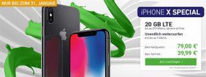 o2 Free M Boost (bis zu 20 GB LTE) mit Galaxy S9, Apple iPhone 8 ab 4,95€ uvm.