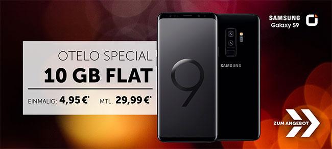 10GB otelo Allnet-Flat Max ab 29,99€ (LTE / UMTS) mit Huawei P20 Pro ab 1€ uvm.