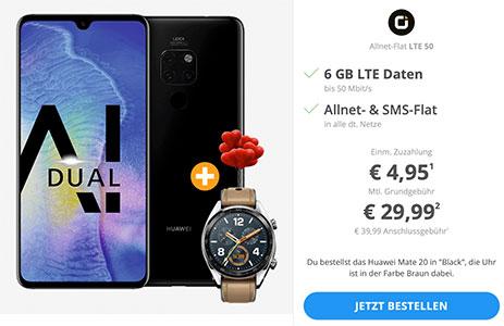 otelo Allnet-Flat Comfort (bis zu 6GB) ab 24,99€ mit Galaxy S9 ab 19€