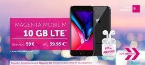 Telekom Magenta Mobil M / M Young mit Huawei P20 Pro, Galaxy Note 9 ab 1€