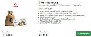 Vodafone DataGO M & DataGO L mit bis zu 240€ Auszahlung