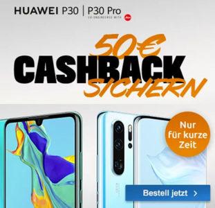 huawei p30 p30 pro smartphone mit 50 cashback von logitel. Black Bedroom Furniture Sets. Home Design Ideas