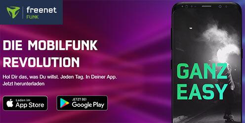 Freenet Funk - unlimitierte LTE Allnet Flat für 0,99€ pro Tag | ohne Limit
