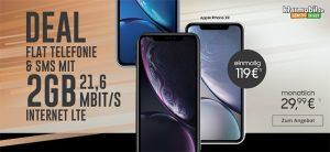 Klarmobil AllNet Flat bis zu 8GB (LTE) ab 29,99€ mit TOP Smartphones ab 1€