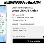 Huawei P30 Pro für 29€ mit MD Green Telekom 6GB Tarif für 26,99€