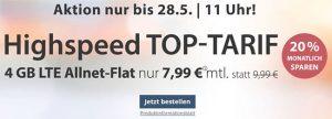 4GB PremiumSIM LTE Allnet Flat für 7,99€ | Aktuelle Angebote in der Übersicht