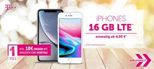 Bis zu 19GB LTE | Telekom Magenta Mobil M (Young) mit Samsung Galaxy S10 für 4,95€