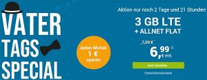 winSIM 3GB LTE Allnet Flat für 6,99€ - Angebote 2019