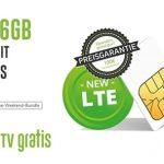 Vodafone Vertrag mit LTE | 6GB für 13,99€ | 8GB für 18,99€ - Mobilcom Debitel Green LTE