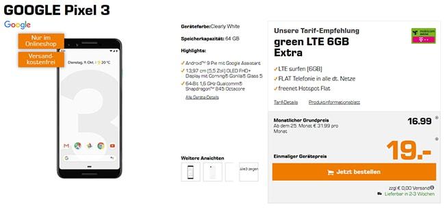 MD Green LTE Tarife ab 19,99€ mit Handy ab 1€ | Telekom LTE Netz | Bis zu 8GB