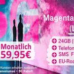 Bis zu 48GB LTE | Telekom Magenta Mobil L (Young) ab 49,95€ mit Handy ab 1€