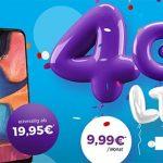 Blau Allnet L (4GB LTE) ab 9,99€ mit Galaxy S20e für 19,95€