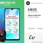 otelo Allnet Flat GO 5GB LTE für 14,99€ pro Monat mit Huawei P30 Lite für 4,95€, Galaxy S50 für 4,99€ oder 120€ Amazon Gutschein