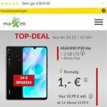 maXXim 2GB LTE Handyvertrag für 11,99€ mit Huawei P30 lite für 1€