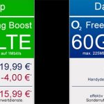 o2 Free M Young und Free L Young (bis zu 60 GB LTE) ab 15,99€ pro Monat