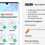 20GB otelo Allnet-Flat Max für 29,99€ / Monat mit Huawei P30 Pro für 49€ | Vodafone LTE
