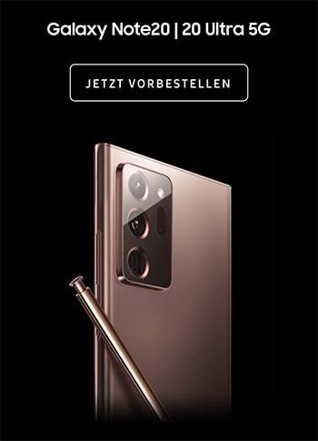 Samsung Galaxy Note 20 | 20 Ultra vorbestellen ab 0€ mit Vertrag