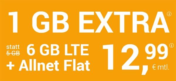 winSIM 6GB LTE Allnet Flat für 12,99€ - ohne Laufzeit