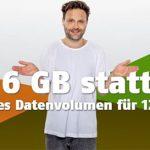 Klarmobil Allnet Flat mit 6GB für 12,99€ / Monat | Vodafone LTE Netz