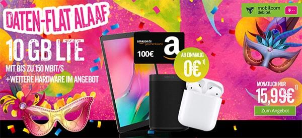 10GB LTE Telekom Internet Flat für 15,99€ pro Monat