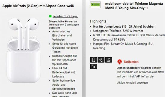 MD Telekom Magenta Mobil S Young - 6GB LTE Flat für 19,95€ mit Hardware ab 4,95€