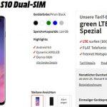 MD Green Vodafone LTE (2GB, 6GB, 8GB) mit Galaxy S10 für 29€ (effektiv ab 3€)