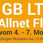 winSIM 5GB LTE Allnet Flat für 12,99€ - ohne Laufzeit | 3 Monate gratis