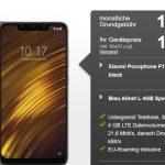 Blau Allnet L (bis zu 4GB LTE) ab 10,99€ mit Huawei P Smart 2019 für 1€   Xiaomi Pocophone F1 für 19,99€