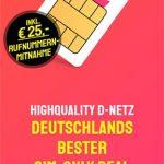 HIGH Mobile 2GB Telekom LTE Allnet Flat für 7€ pro Monat | 3GB ab 10€ | 8GB ab 17€
