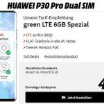 Huawei P30 Pro für 29€ mit MD Green Telekom 6GB Tarif für 21,99€