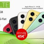 24GB MD Green Vodafone LTE Tarif ab 39,99€ mit iPhone 11 ab 45€