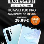 20GB LTE otelo Allnet-Flat Max für 29,99€ / Monat mit Huawei P30 Pro für 9€, Galaxy S10 für 79€, iPhone Xs für 119,95€ | Vodafone LTE