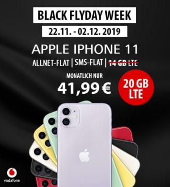 25GB LTE Vodafone Smart XL ab 41,99€ mit iPhone 11 ab 1€   iPhone Xs ab 4,95€   OnePlus 7T für 4,95€ uvm.