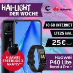 Congstar Allnet Flat Plus (10GB LTE) ab 25€ mit Galaxy A51, Huawei P40 lite, Bundle Dealz ab 4,95€