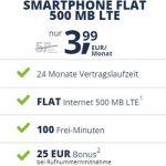 Freenet Mobile Smartphone Flat Tarife ab 3,99€ | monatlich kündbar