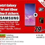 Galaxy S10 + Xbox One X 1TB + Star Wars Jedi: Fallen Order + Fallout 76 für 79€ mit MD Green Vodafone 8GB LTE Tarif