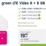 MD Green Telekom LTE 14GB LTE Allnet Flat für 19,99€ | SIM-Only
