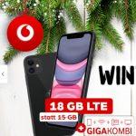 Vodafone Smart L Plus (bis zu 18GB) ab 36,99€ mit iPhone 11 ab 99,95€   OnePlus 7T für 19,95€   Google Pixel 4 für 4,99€ uvm.