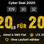 20 GB Congstar Allnet Flat Plus für 20€ / Monat | ohne Laufzeit im Telekom LTE Netz