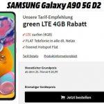 Samsung Galaxy S90 5G für 1€ mit MD Green Vodafone 4GB LTE Tarif für 19,99€ (effektiv -4,04€ pro Monat)