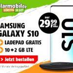 Galaxy S10 für 49,99€ mit Klarmobil Telekom 12 GB LTE Tarif für 29,99€