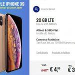 o2 Free M Boost (20 GB LTE) mit Apple iPhone Xs für 4,95€, OnePlus 7T für 4,95€ uvm.