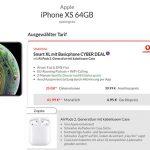 Vodafone Smart L Plus (bis zu 18GB) ab 36,99€ mit iPhone Xs + AirPods 2 für 4,95€ | OnePlus 7T für 4,95€ | Google Pixel 4 für 39€ uvm.