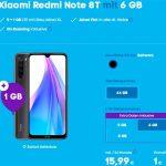 Blau Allnet XL (bis zu 7GB LTE) ab 15,99€ | TOP Deal: Xiaomi Redmi Note 8T für 1€