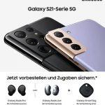 Samsung Galaxy S21 (Plus) 5G / S21 Ultra 5G vorbestellen ab 1€ mit Vertrag