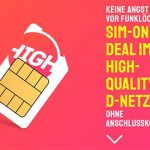 HIGH Mobile 3GB Telekom LTE Allnet Flat ab 10€ pro Monat | 10GB Flat ab 15€ | ohne Anschlussgebühr