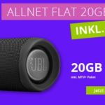 MTV Mobile Allnet 20GB für 19,99€ mit JBL Flip 5 Bluetooth-Lautsprecher gratis