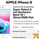 Saturn Super Select S 3GB LTE ab 9,99€ mit Galaxy A40 für 1€ | iPhone 8 für 79€